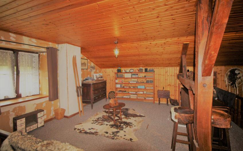 Gedinne – Maison 6 ch avec jardin + 2 garages